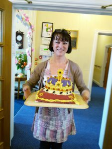 Queen's Cake Kate